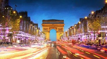 Paris with train + hotel packages